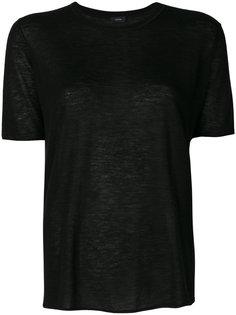 классическая однотонная футболка  Joseph