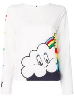 футболка с принтом  Mira Mikati
