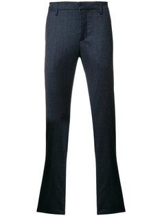 клетчатые брюки-чинос Dondup