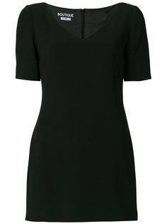 платье-футболка с контрастным подолом Boutique Moschino