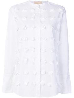 фактурная рубашка без воротника  Ports 1961