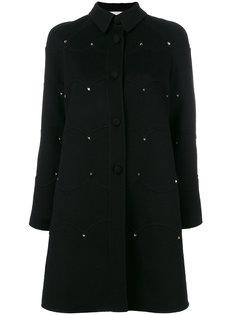 пальто на пуговицах Rockstud Valentino