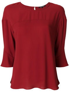 блузка с расклешенными рукавами Luisa Cerano
