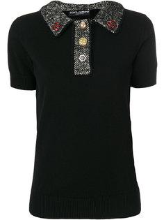 топ на пуговицах  Dolce & Gabbana
