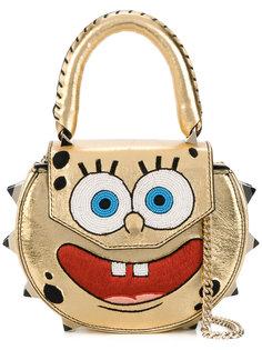 Mimi embroidered SpongeBob shoulder bag Salar