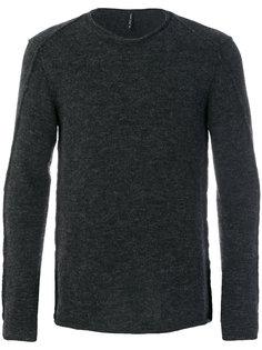 свитер с наружными швами Transit