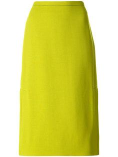 классическая А-образная юбка  Marni
