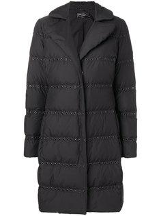 куртка-пуховик с люверсами Salvatore Ferragamo