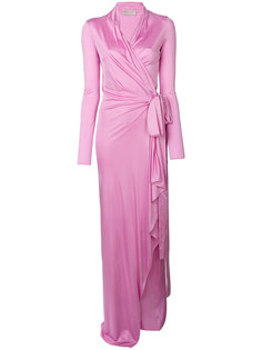 вечернее платье с поясом Emilio Pucci
