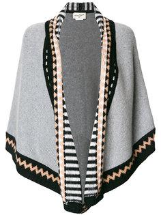 шарф с треугольным узором Antonia Zander