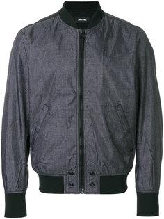 куртка-бомбер  на молнии Diesel