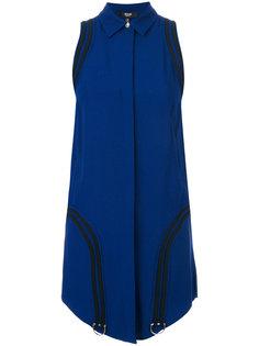 короткое платье-рубашка Versus