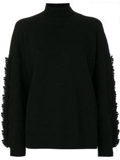 свободный свитер в рубчик  Barrie