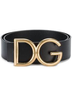 ремень с пряжкой-логотипом Dolce & Gabbana
