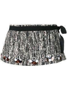 декорированная мини юбка Dorothee Schumacher