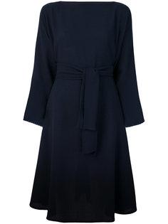 расклешенное платье с поясом  Daniela Gregis