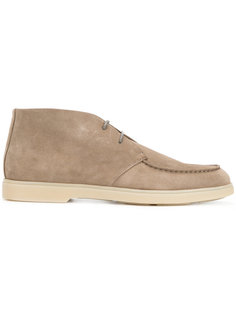 ботинки на шнуровке Santoni