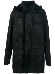 пальто с капюшоном Weber + Weber