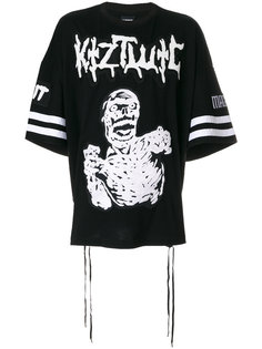Zombie embroidery T-shirt KTZ