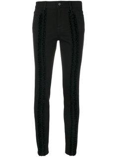 джинсы скинни с оборкой  Stella McCartney