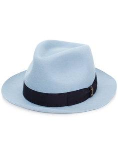 классическая фетровая шляпа Borsalino