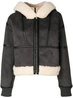куртка с искусственной овчиной  Stella McCartney