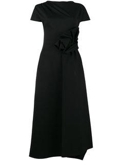 платье с разрезом спереди  Osman