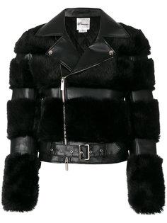 куртка с отделкой из искусственного меха  Comme Des Garçons Noir Kei Ninomiya