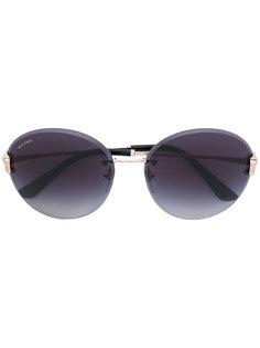 солнцезащитные очки в круглой оправе Apollo Bulgari