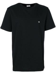 футболка с вышивкой Dior Homme