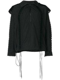 lace up jacket KTZ