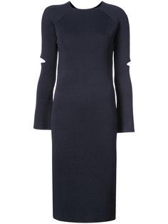 платье-свитер в рубчик Nomia