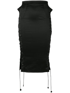 юбка-карандаш со шнуровкой  Murmur