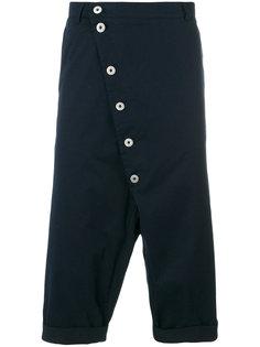 asymmetric button line pants  Alchemy