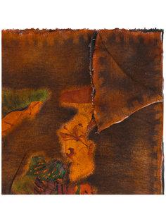 трикотажный шарф с абстрактным принтом Avant Toi