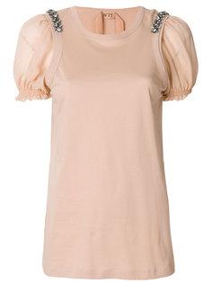 классическая блузка шифт  Nº21