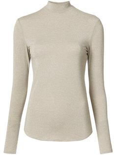 блузка с высокой горловиной Nomia