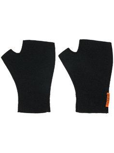 трикотажные перчатки без пальцев Barena