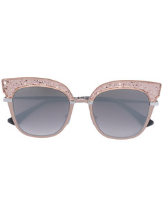 солнцезащитные очки в оправе кошачий глаз Jimmy Choo Eyewear