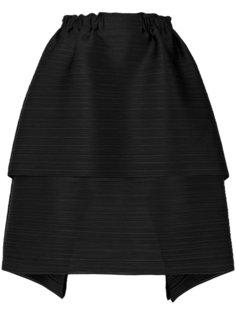 ярусная пышная юбка  Pleats Please By Issey Miyake