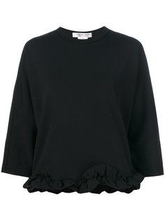 блузка с оборкой  Comme Des Garçons Comme Des Garçons
