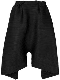 свободные шорты с драпировкой  Pleats Please By Issey Miyake