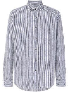 рубашка в полоску Salvatore Ferragamo