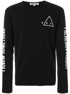 футболка с длинными рукавами the end McQ Alexander McQueen