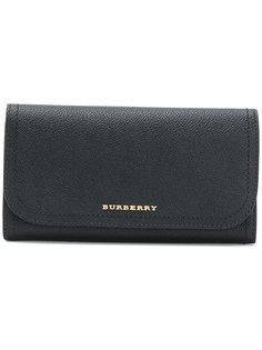 кошелек с логотипом Burberry