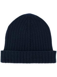 шапка-бини в рубчик A.P.C.