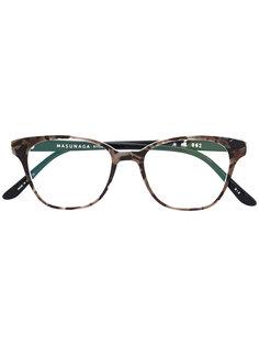 очки в оправе кошачий глаз Masunaga