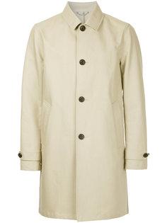 однобортное пальто Hardy Amies