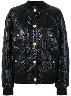 стеганая куртка-бомбер  Balmain