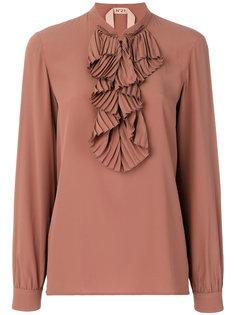 блузка с оборкой  Nº21